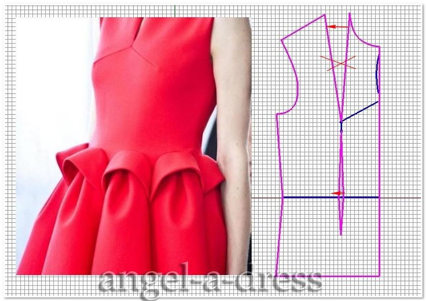 Сшить платье из неопрена своими руками 91