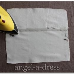 как выполнить бельевой шов