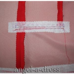 Прорезной карман с клапаном и одной обтачкой 2