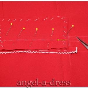 Прорезной карман с клапаном и одной обтачкой 3/ прорезной карман с клапаном