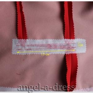 Прорезной карман с клапаном и одной обтачкой 6