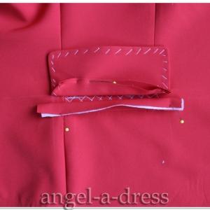 Прорезной карман с клапаном и одной обтачкой 7