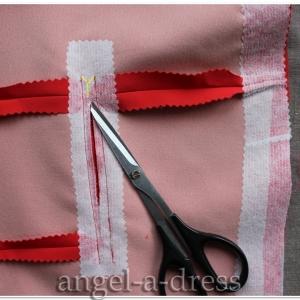 Прорезной карман с клапаном и листочкой2