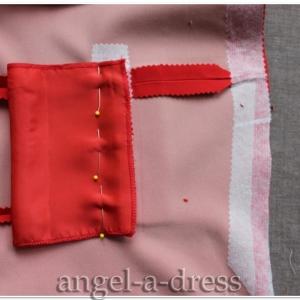 прорезной карман с клапаном