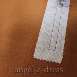 рамка обтачного кармана