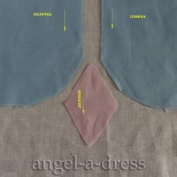 усиление боковых швов рубашки