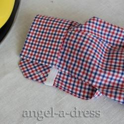 рубашка как сшить манжеты