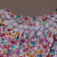 платье с открытыми плечами мастер класс