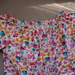 платье с открытыми плечами своими руками