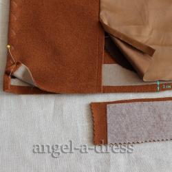 обработка низа пальто и жакета
