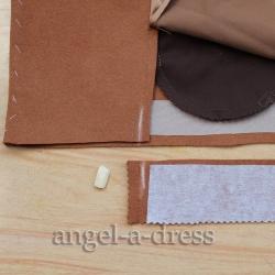 обработка низа пальто обтачкой