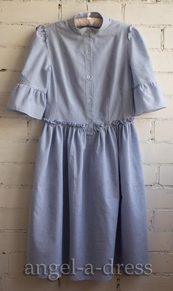 Пришить планку на платье