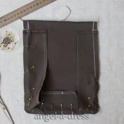 как сшить карман портфель