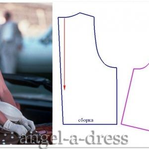платье в горох из фильма Красотка
