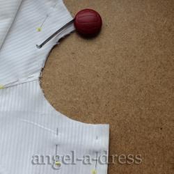 горловина рубашки