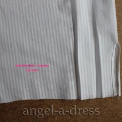 обработка разреза в мужской рубашке