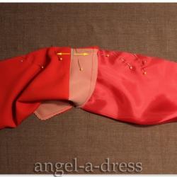 передний шов рукава