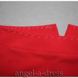 пояс юбки с заниженной талией
