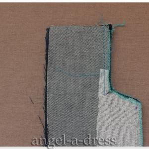 как сшить шлицу в юбке