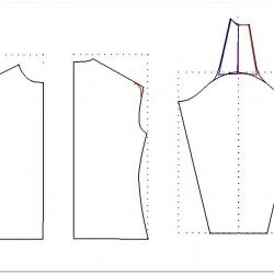 моделирование свитшот реглан