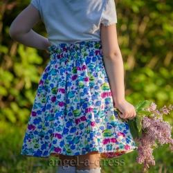 шьём юбку для девочки