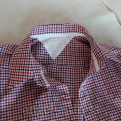 воротник мужской рубашки как сшить