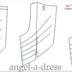 Zac Pozen моделирование спинки
