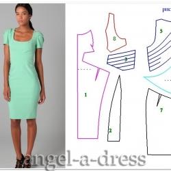 Zac Pozen моделирование платья