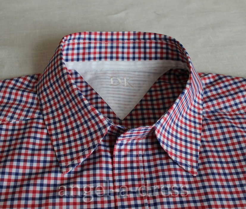 Воротник для рубашки сшить