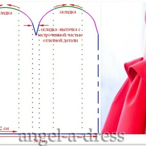моделирование красного платья Del Pozo5