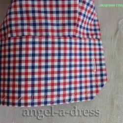 мужская рубашка с манжетами