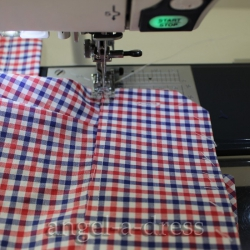 рубашка с манжетами