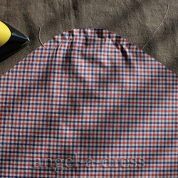 посадка оката рукава в рубашке