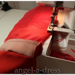 технология обработки рукава пальто