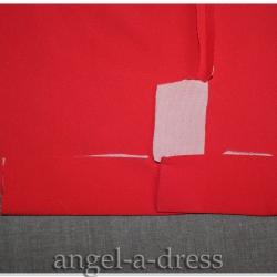 обработка шлиц рукава