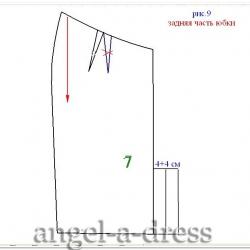 Zac Pozen моделирование юбки
